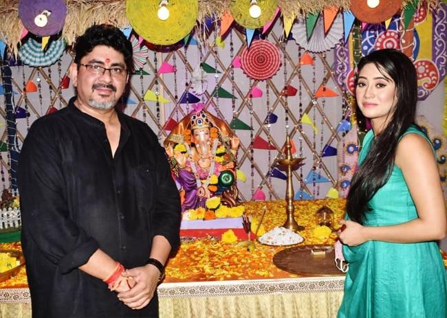 Shivangi Joshi celebrates Ganesh Chaturthi