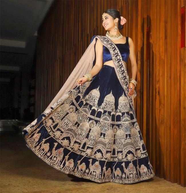 Shivangi Joshi was styled by her friend Neha Adhvik Mahajan