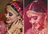 Shivangi Joshi AKA Naira Goenka From Yeh Rishta Kya Kehlata Hai Looks Ethereal in Red Lehenga Bridal Look