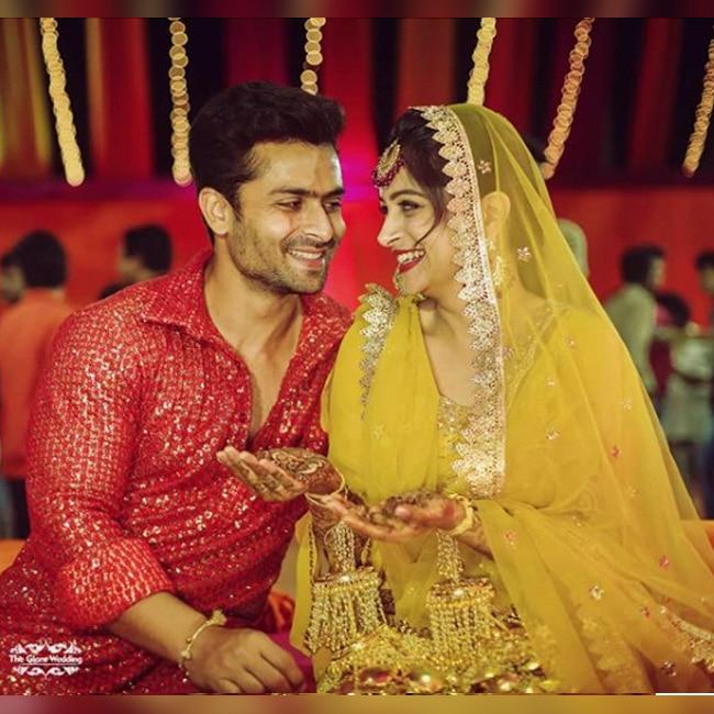 Shoaib Ibrahim and Dipika Kakkar on their sangeet ceremony