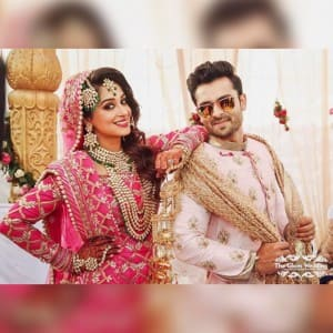 Complete wedding album of Sasural Simar Ka couple Shoaib Ibrahim and Dipika Kakkar's wedding