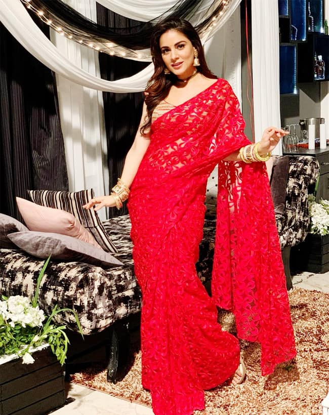 Shraddha Arya is a Television sensation