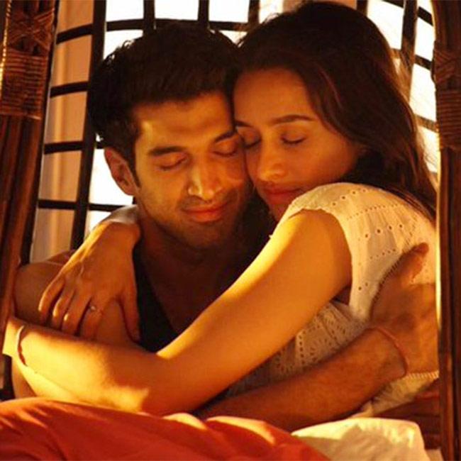 Shraddha Kapoor and Aditya Roy Kapur in new movie still from Ok Jaanu
