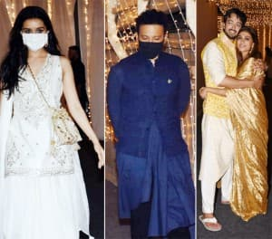 Shraddha Kapoor-Rohan Shrestha Deck up For Shaza Morani-Priyaank Sharma's Wedding Party - See Photos