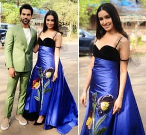 Shraddha Kapoor ups the glam quotient in this stunning blue dress
