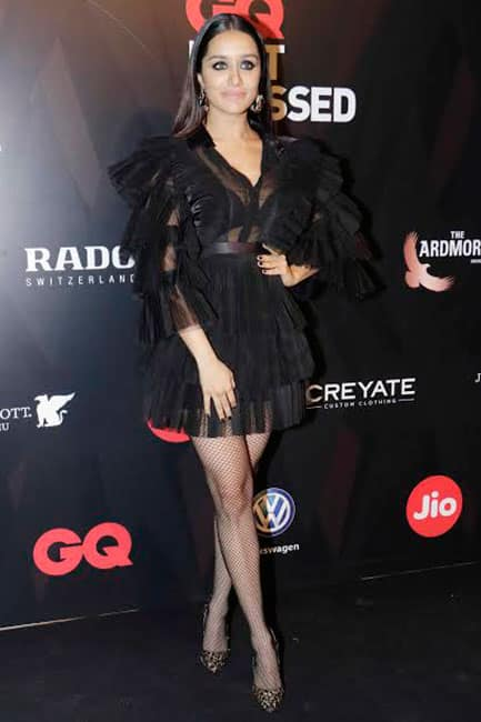 Shraddha Kapoor looks smoking hot during GQ Best Dressed Party