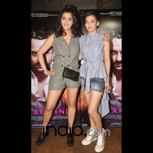 Kaalakaandi screening: Bollywood celebs except Saif Ali Khan attend the screening