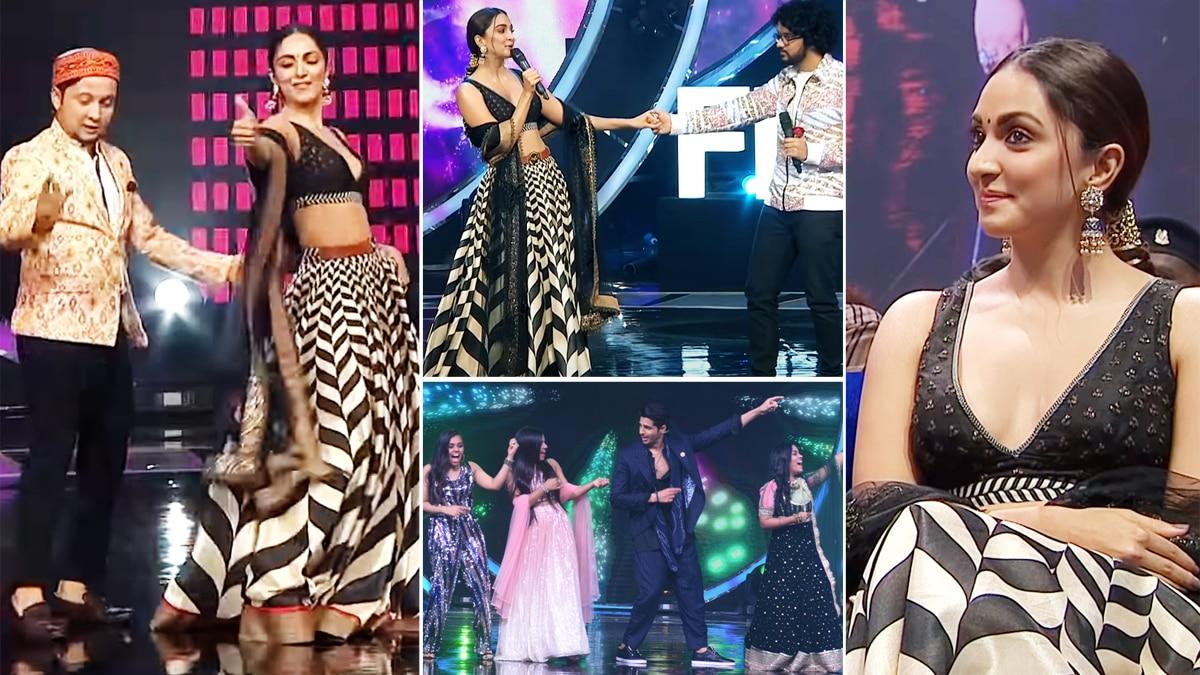 Sidharth Malhotra and Kiara Advani On Indian Idol Grand Finale