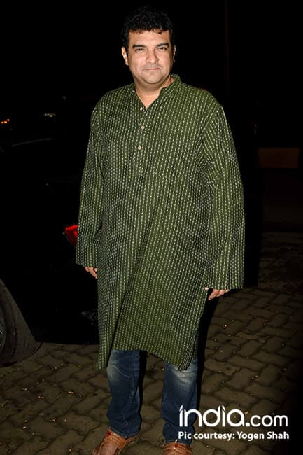 Sidharth Roy Kapur snapped prior to her birthday party
