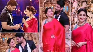 Madhuri Dixit-Sidharth Shukla Set Dance Deewane 3 Stage On Fire As They Recreate Iconic Dil Toh Pagal Hai Dialogue