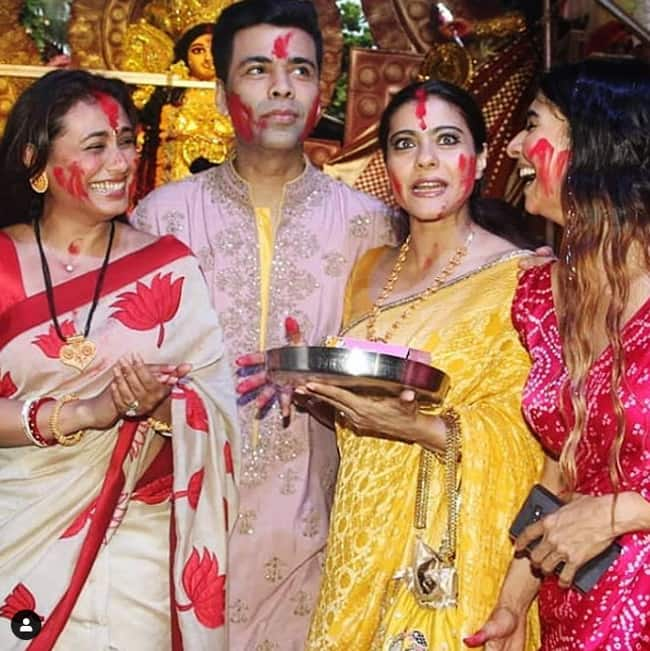 Sindoor Khela ceremony