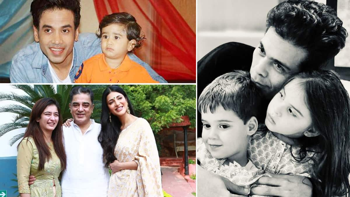 Single fathers of Bollywood