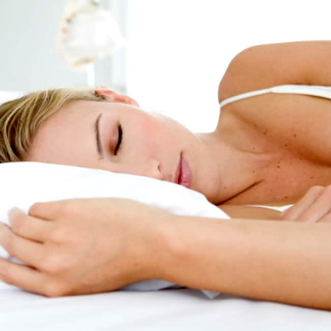Sleep atleast for 6 hours daily to get rid of dark circles