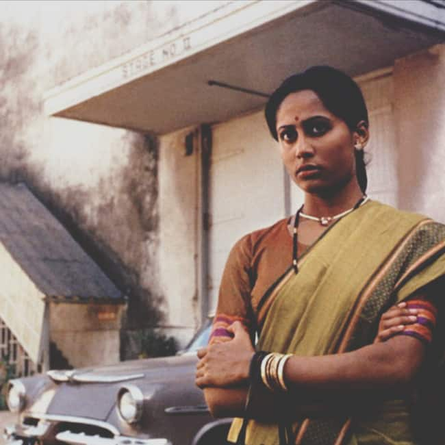 Smita Patil washed off the fair complexion actresses mentality