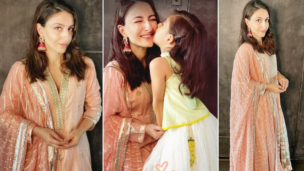 Soha Ali Khan Celebrates Eid With Daughter Inaaya  Pictures Are Just So Adorable