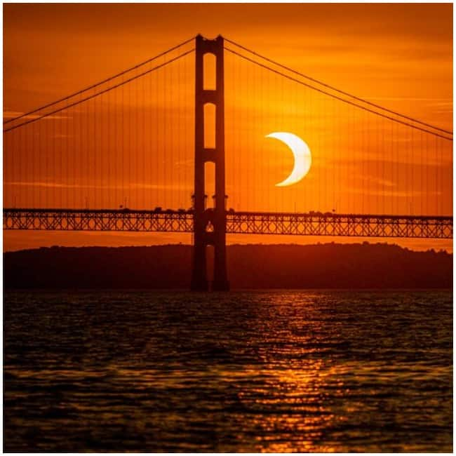 Solar Eclipse  June 2021  Beautiful images leave people stunned