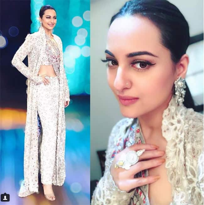 Sonakshi gives fashion goals