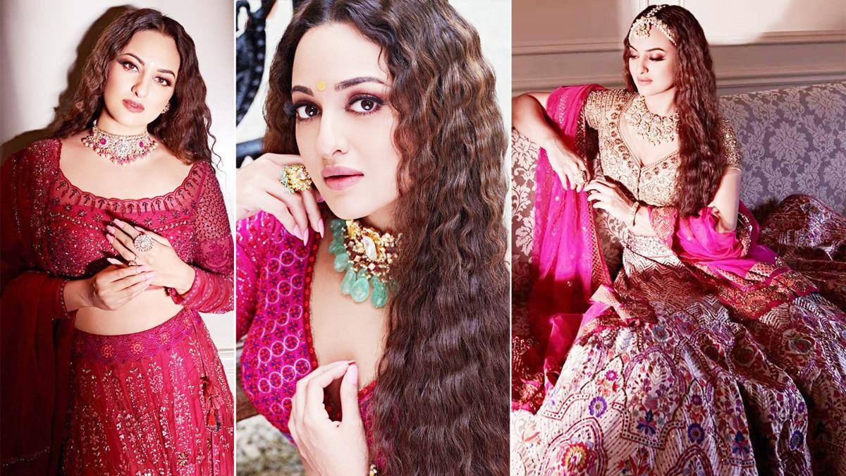 Sonakshi Sinha Looks Resplendent As She Turns Bride For Wedding Magazine