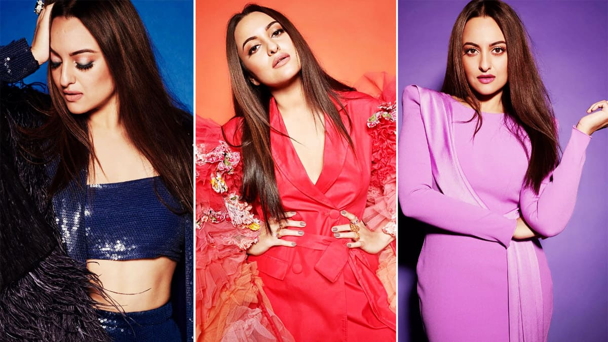 Sonakshi Sinha sizzles in these hot colourful dramatic outfits
