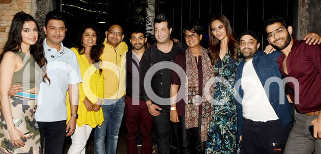 Sonakshi with film s cast