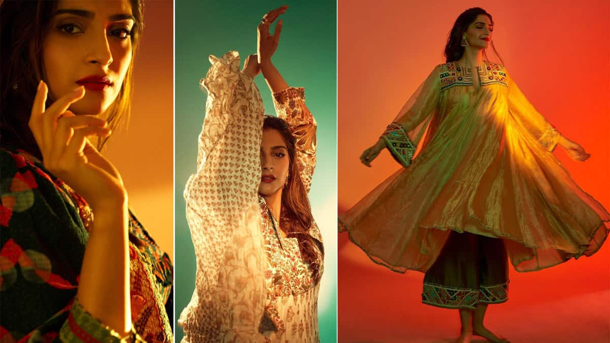 Sonam Kapoor Ahuja   s latest photoshoot in ethnic