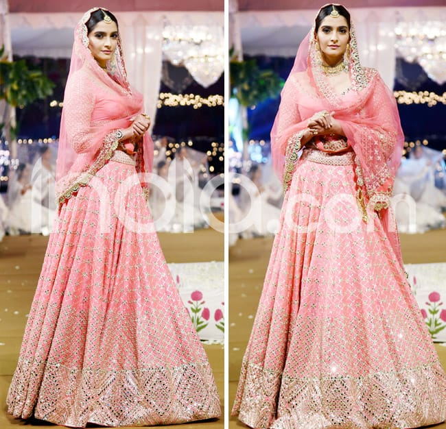 Sonam Kapoor s new bridal look