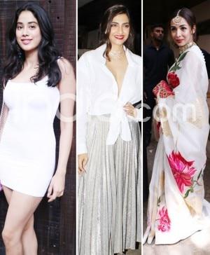 Sonam Kapoor's Birthday Bash: Janhvi Kapoor, Arjun Kapoor, Malaika Arora And Other Celebs Attend