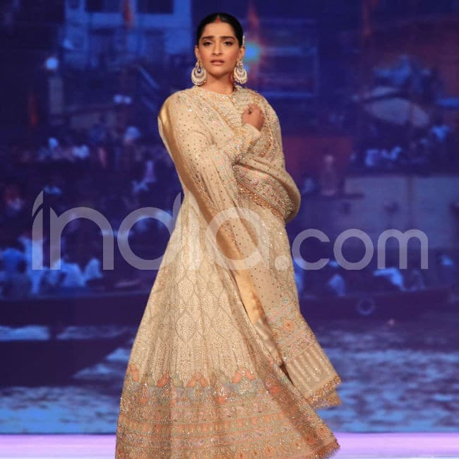Sonam turned showstopper