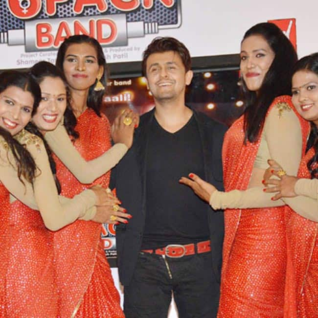 Sonu Nigam lent his voice for 6 Pack Band