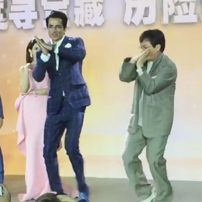 Sonu Sood and Jackie Chan shake a leg at Shanghai Film Festival