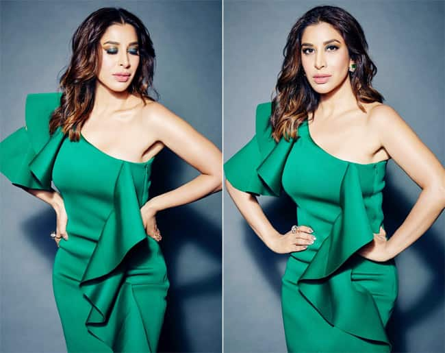 Sophie Choudry Looks Breathtaking in Green Dress