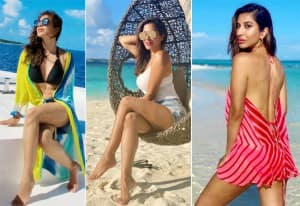 Sophie Choudry's Bikini Pictures As She Chills on The Beach Lounger Will Leave You Craving For a Holiday!