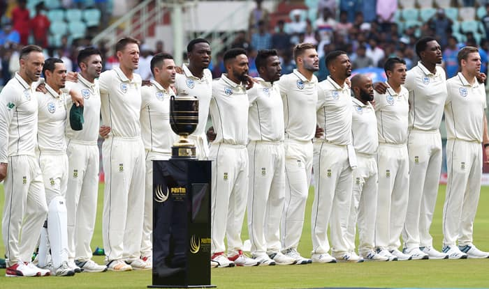 South Africa s first Test of World Championship