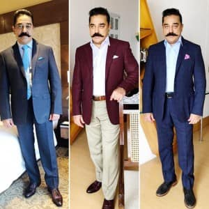 Superstar Kamal Haasan's Birthday Celebration in Paramakudi, Unveiling Father's Statue on The Occasion, See Pictures