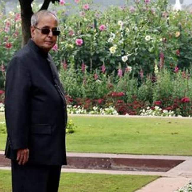 Special Roses in Mughal Gardens named after Pranab Mukherjee and his wife Suvra this year