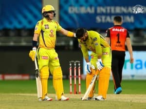 IPL 2020 CSK vs SRH, Match 14 in Pictures: Priyam Garg, Bowlers Shine in Sunrisers Hyderabad's 7-Run Win, MS Dhoni Fails to Finish Match For Chennai Super Kings