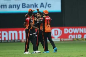 IPL 2020 SRH vs KXIP, Match 22 in Pictures: Jonny Bairstow, Rashid Khan Star in Sunrisers Hyderabad's 69-run Win Over Kings XI Punjab