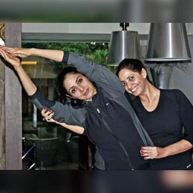 Sridevi was fond of excercise