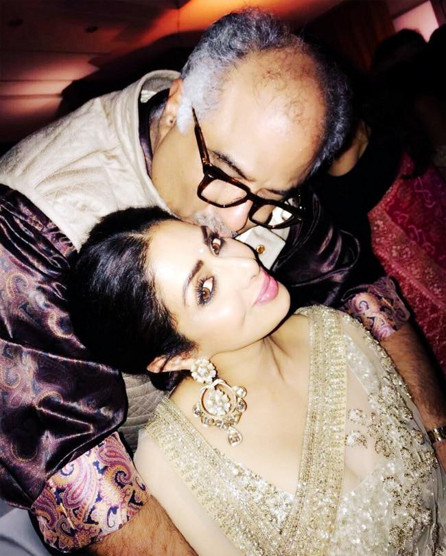 Sridevi s husband Boney Kapoor posts