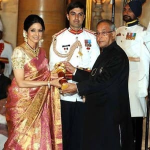Life in pics: Sridevi, India's first female superstar