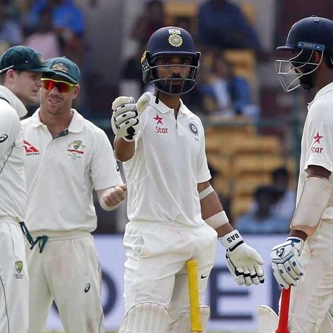 Stumps declared for India vs Australia 2017  2nd test day 3