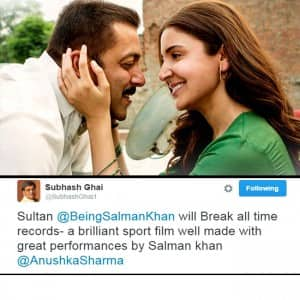 Sultan movie review: Bollywood celebs tweet review, give thumbs up to Salman and Anushka starrer