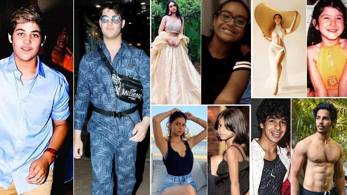 Suhana Khan To Shanaya Kapoor  Now And Then Photos of Star Kids
