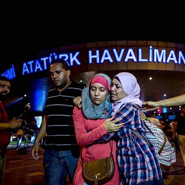 Suicide Bomb Attack on Ataturk International Airport in Istanbul