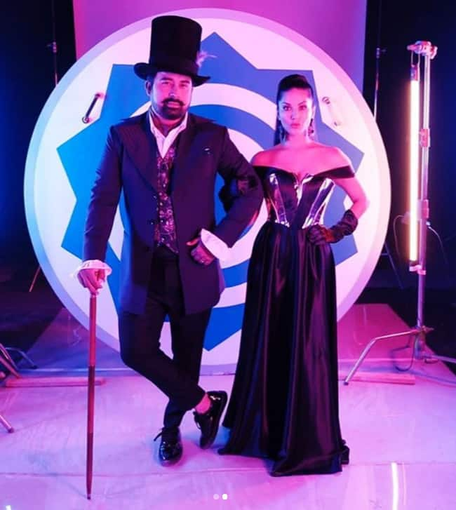 Sunny Leone and Rannvijay Singha look hot as they start the shoot of MTV Splitsvilla 12