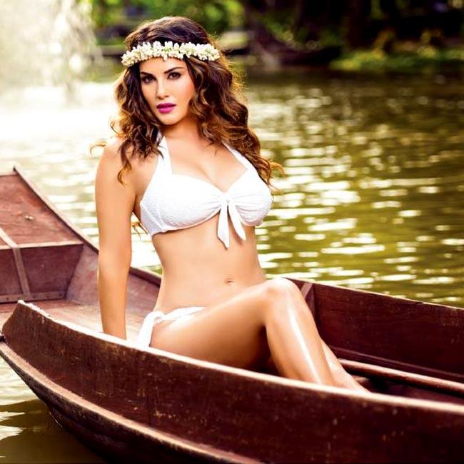 Sunny Leone bikini shoot for Manforce calendar