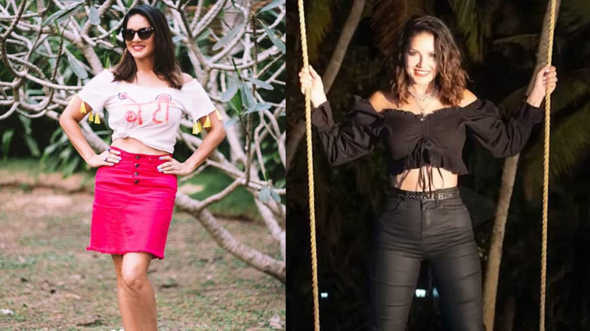 Sunny Leone Glams Up in Gorgeous Outfits
