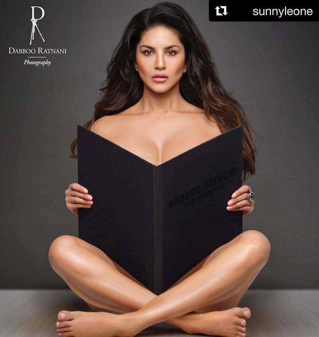 Sunny Leone Goes Nude For Dabboo Ratnani   s Calendar 2020