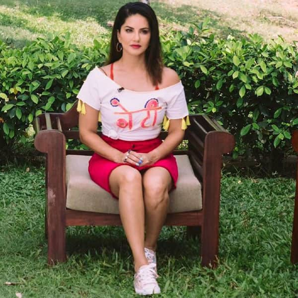 Sunny Leone in Rs 6K    Beti    Crop Top  Bowls Over Fans With Her Quirkiness