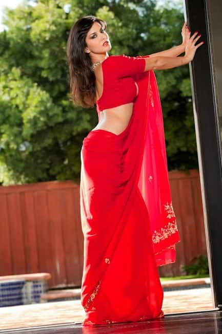 Sunny Leone looks red hot in this picture